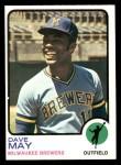 1973 Topps #152  Dave May  Front Thumbnail