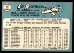 1965 Topps #52  Ed Roebuck  Back Thumbnail