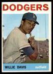1964 Topps #68  Willie Davis  Front Thumbnail