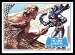 1966 Topps Batman Blue Bat Back #7   The Grim Gladiator Front Thumbnail