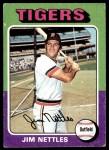 1975 Topps #497  Jim Nettles  Front Thumbnail