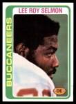 1978 Topps #314  Lee Roy Selmon  Front Thumbnail
