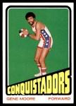 1972 Topps #201  Gene Moore   Front Thumbnail