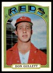 1972 Topps #157  Don Gullett  Front Thumbnail