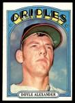 1972 Topps #579  Doyle Alexander  Front Thumbnail