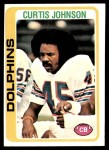 1978 Topps #342  Curtis Johnson  Front Thumbnail