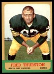 1963 Topps #90  Fred Thurston  Front Thumbnail