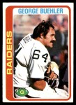 1978 Topps #392  George Buehler  Front Thumbnail