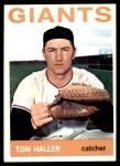 1964 Topps #485  Tom Haller  Front Thumbnail