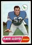 1968 Topps #84  Dave Lloyd  Front Thumbnail