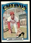 1972 Topps #671  Donn Clendenon  Front Thumbnail