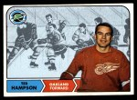 1968 Topps #85  Ted Hampson  Front Thumbnail