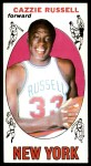 1969 Topps #3  Cazzie Russell  Front Thumbnail