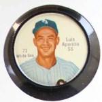 1962 Salada Coins #71  Luis Aparicio  Front Thumbnail