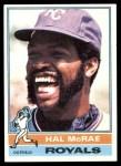 1976 Topps #72  Hal McRae  Front Thumbnail
