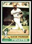 1976 Topps #185  Dave Parker  Front Thumbnail