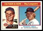 1976 Topps #66  Gus Bell / Buddy Bell   Front Thumbnail