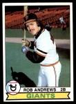 1979 Topps #34  Rob Andrews  Front Thumbnail