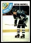 1978 Topps #216  Bryan Maxwell  Front Thumbnail