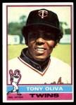 1976 Topps #35  Tony Oliva  Front Thumbnail