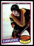 1980 Topps #208  Stan Smyl  Front Thumbnail