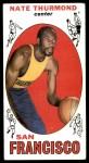 1969 Topps #10  Nate Thurmond  Front Thumbnail