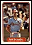 1982 Fleer #114  Keith Hernandez  Front Thumbnail