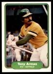1982 Fleer #85  Tony Armas  Front Thumbnail