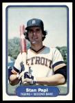 1982 Fleer #280  Stan Papi  Front Thumbnail