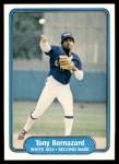 1982 Fleer #338  Tony Bernazard  Front Thumbnail