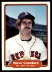 1982 Fleer #291  Steve Crawford  Front Thumbnail