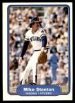 1982 Fleer #379  Mike Stanton  Front Thumbnail