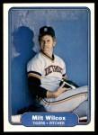 1982 Fleer #285  Milt Wilcox  Front Thumbnail