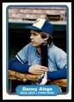 1982 Fleer #608  Danny Ainge  Front Thumbnail