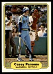 1982 Fleer #515  Casey Parsons  Front Thumbnail