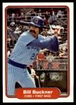 1982 Fleer #589  Bill Buckner  Front Thumbnail