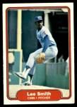 1982 Fleer #603 REV Lee Smith  Front Thumbnail