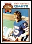 1979 Topps #431  Jimmy Robinson  Front Thumbnail