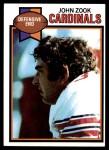 1979 Topps #517  John Zook  Front Thumbnail