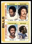 1978 Topps #503   Bills Leaders Checklist Front Thumbnail