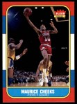 1986 Fleer #16  Maurice Cheeks  Front Thumbnail