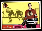 1968 Topps #18  Pit Martin  Front Thumbnail