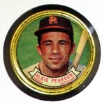 1964 Topps Coins #111   Albie Pearson   Front Thumbnail