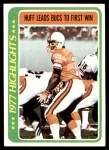 1978 Topps #1   -  Gary Huff Huff Leads Bucs to First Win Front Thumbnail