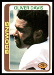 1978 Topps #288  Oliver Davis  Front Thumbnail