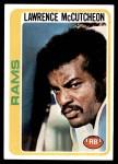 1978 Topps #45  Lawrence McCutcheon  Front Thumbnail