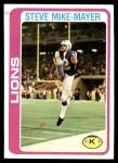 1978 Topps #59  Steve MikeMayer  Front Thumbnail