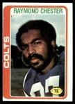 1978 Topps #69  Raymond Chester  Front Thumbnail