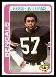 1978 Topps #229  Reggie Williams  Front Thumbnail