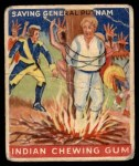 1947 Goudey Indian Gum #80   Saving Gen.Putnam Front Thumbnail